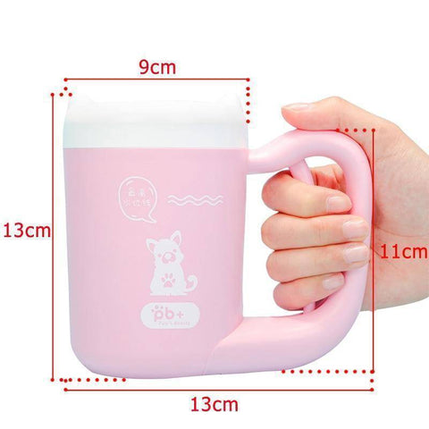 Image of Dog Paw Cleaning Mug