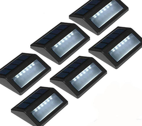 Image of LED Waterproof Solar Garden Step Lights