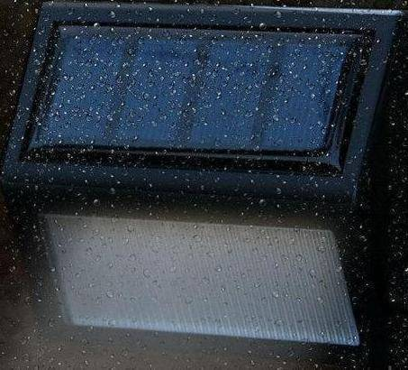 LED Waterproof Solar Garden Step Lights