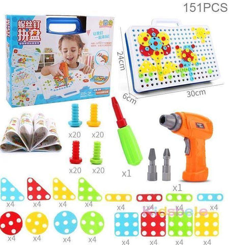 Image of Design and Drill Creative Toy Kit