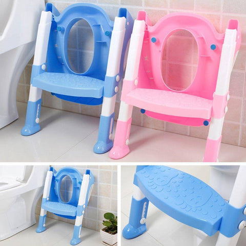 Image of Toddler Safety Toilet Seat Trainer