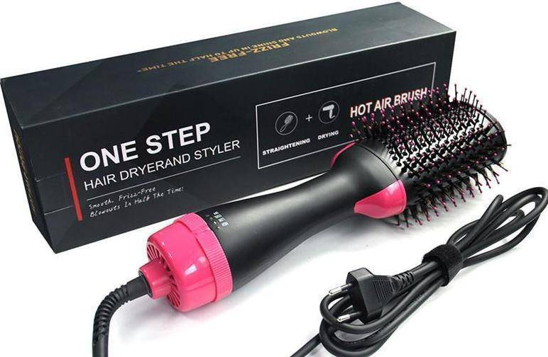 One Step Hair Drying and Volumizer