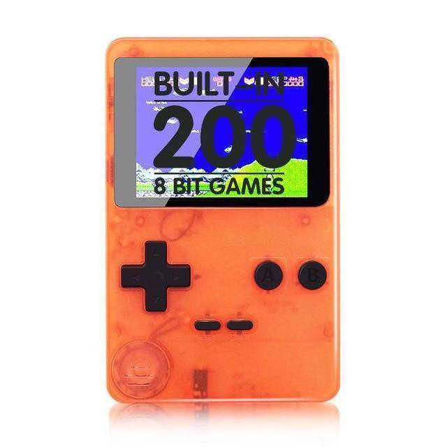 Mini Retro Handheld Pocket Game with 168 Built-in Classic Games