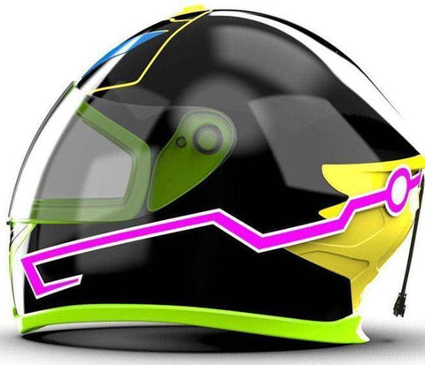 Image of Motorcycle Helmet Led Stripe