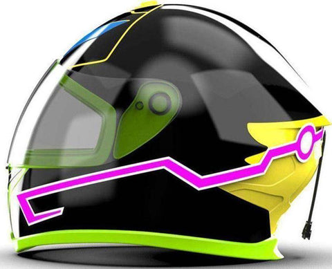 Motorcycle Helmet Led Stripe
