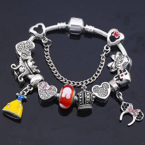 Image of Disney Charm Bracelet