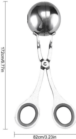 Image of Stainless Steel Meatball Scooper