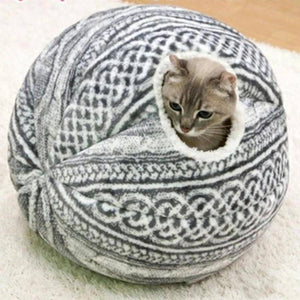 Spherical Cat House with Round Opening