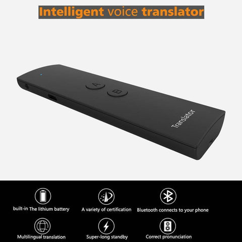Image of Mini Wireless Two-Way Real Time Bluetooth Language Voice Translator
