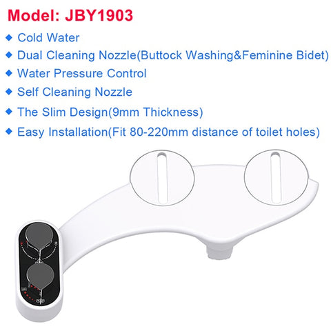 Image of Bidet Toilet Seat Self-Cleaning Nozzle