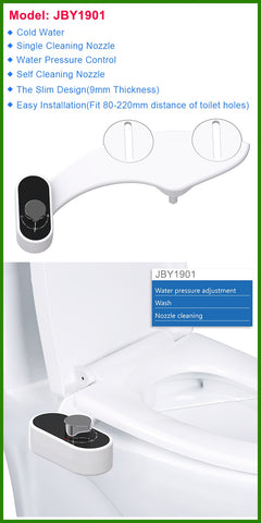 Bidet Toilet Seat Self-Cleaning Nozzle
