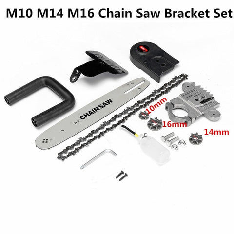 Image of Electric Chainsaw Bracket Set For Angle Grinder