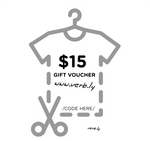 $15 Gift Voucher,Gift Voucher - verb.ly
