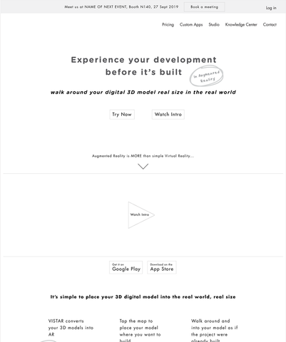 Website or App Interactive Prototype (incl. Core Messaging + UX Copywriting)
