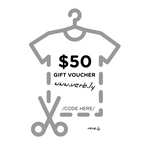 $50 Gift Voucher,Gift Voucher - verb.ly