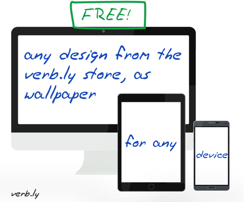 FREE Wallpaper – Any Design,wallpaper - verb.ly