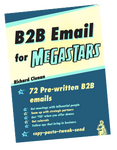 B2B Email for Megastars, - verb.ly