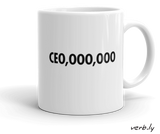 CE0,000,000 Mug,mug - verb.ly