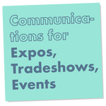 Communications for Expos, Tradeshows, and Events,corporate promotional - verb.ly