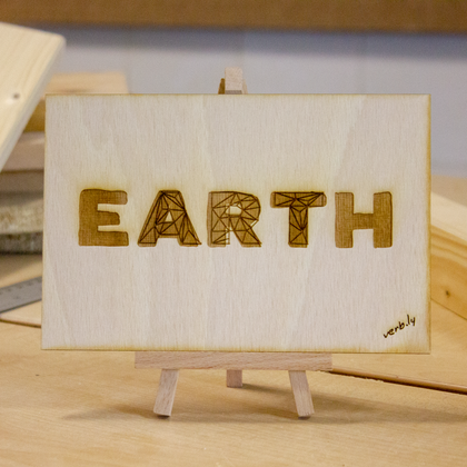 Earth Art Desk Art