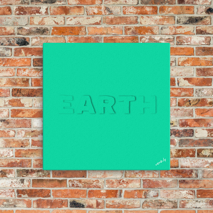 Earth Art (canvas print)