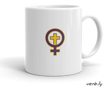 Christian Feminist Cup,mug - verb.ly
