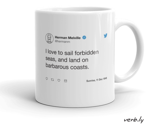 Moby Dick Mug / Literature Mug,mug - verb.ly