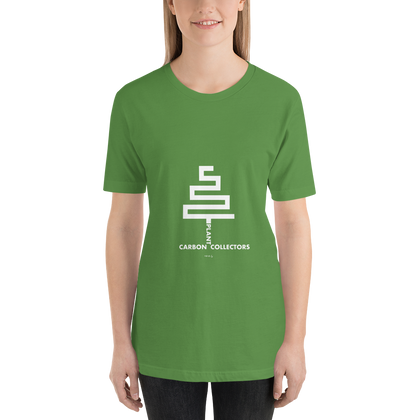 Environmental-Tshirt-Plant Carbon Collectors, Unisex T-Shirt-www.verb.ly