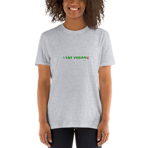 I Eat Vegan(s), Unisex T-Shirt,t-shirt - verb.ly