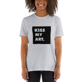 Kiss My Art, Unisex T-Shirt,t-shirt - verb.ly