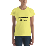 Psychedelic Tshirt – Women's (ADD SHROOMS),t-shirt - verb.ly
