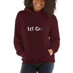 Let Go / Let God, Hooded Sweatshirt,hoodies - verb.ly