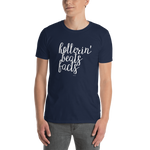 Hollerin' Beats Facts, Unisex T-Shirt,t-shirt - verb.ly