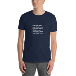 Philosophy-Tshirt-I am not who you think I am, Unisex T-Shirt-www.verb.ly