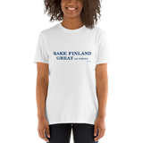 Rake Finland Great Unisex T-Shirt,t-shirt - verb.ly