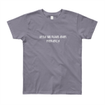 Kids-Tshirt-Little Sis Rules Even Morerly – T-Shirt-www.verb.ly