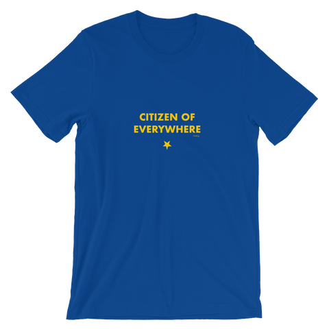Brexit-Tshirt-Citizen of Everywhere, Unisex T-Shirt-www.verb.ly