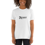 Resist, Unisex T-Shirt,t-shirt - verb.ly
