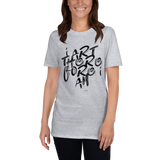 I Art Therefore I Am (2), Unisex T-Shirt,t-shirt - verb.ly