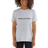 Animals are People, Unisex T-Shirt,t-shirt - verb.ly