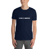 Elon Musk is Boring, Unisex T-Shirt,t-shirt - verb.ly