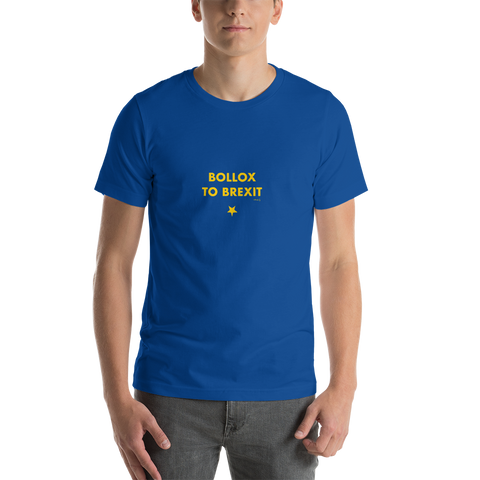 Brexit-Tshirt-Bollox to Brexit, Unisex T-Shirt-www.verb.ly