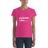 Psychedelic Tshirt – Women's (ADD SHROOMS)