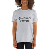 Fake Back Control, Unisex T-Shirt,t-shirt - verb.ly