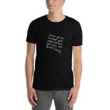 Once You've Ruined Your Reputation You Can Live Quite Freely,t-shirt - verb.ly