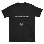 Unicorns are Real, Unisex T-Shirt,t-shirt - verb.ly