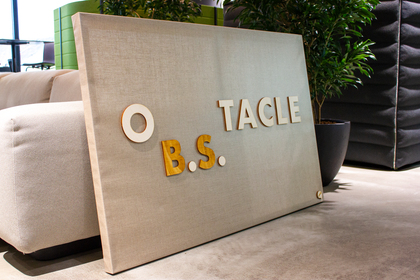 OB.S.TACLE (handmade in materials & colors to suit your space),Custom Canvas - verb.ly