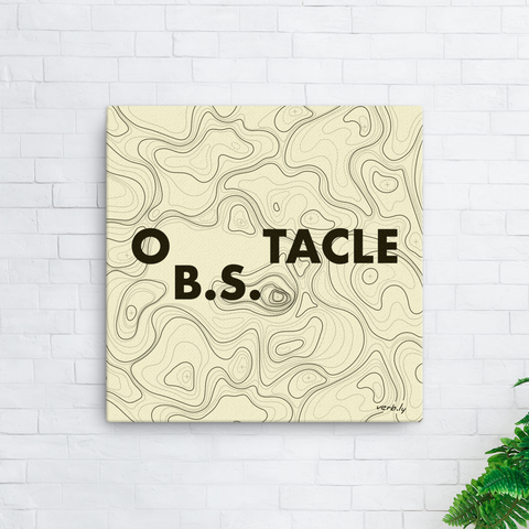 oB.S.tacle,Wall Art - verb.ly