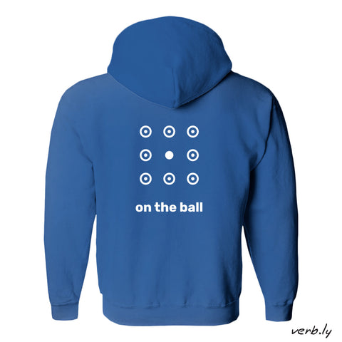 Promotional-Item-Work sample: Hoodies for employees-www.verb.ly