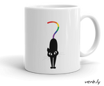 lgbtQuestioning Cat Mug,mug - verb.ly